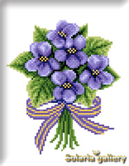 Bouquet of violets image