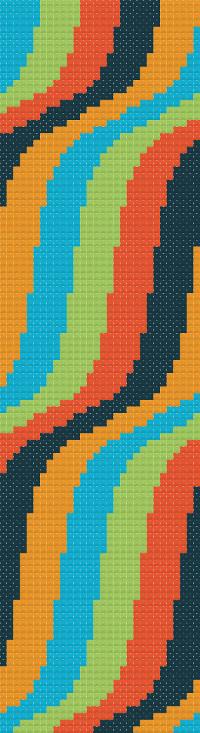 bookmark 5 cross stitch image