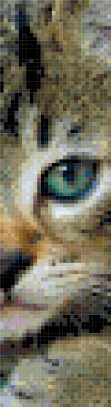 bookmark 13 cat cross stitch image