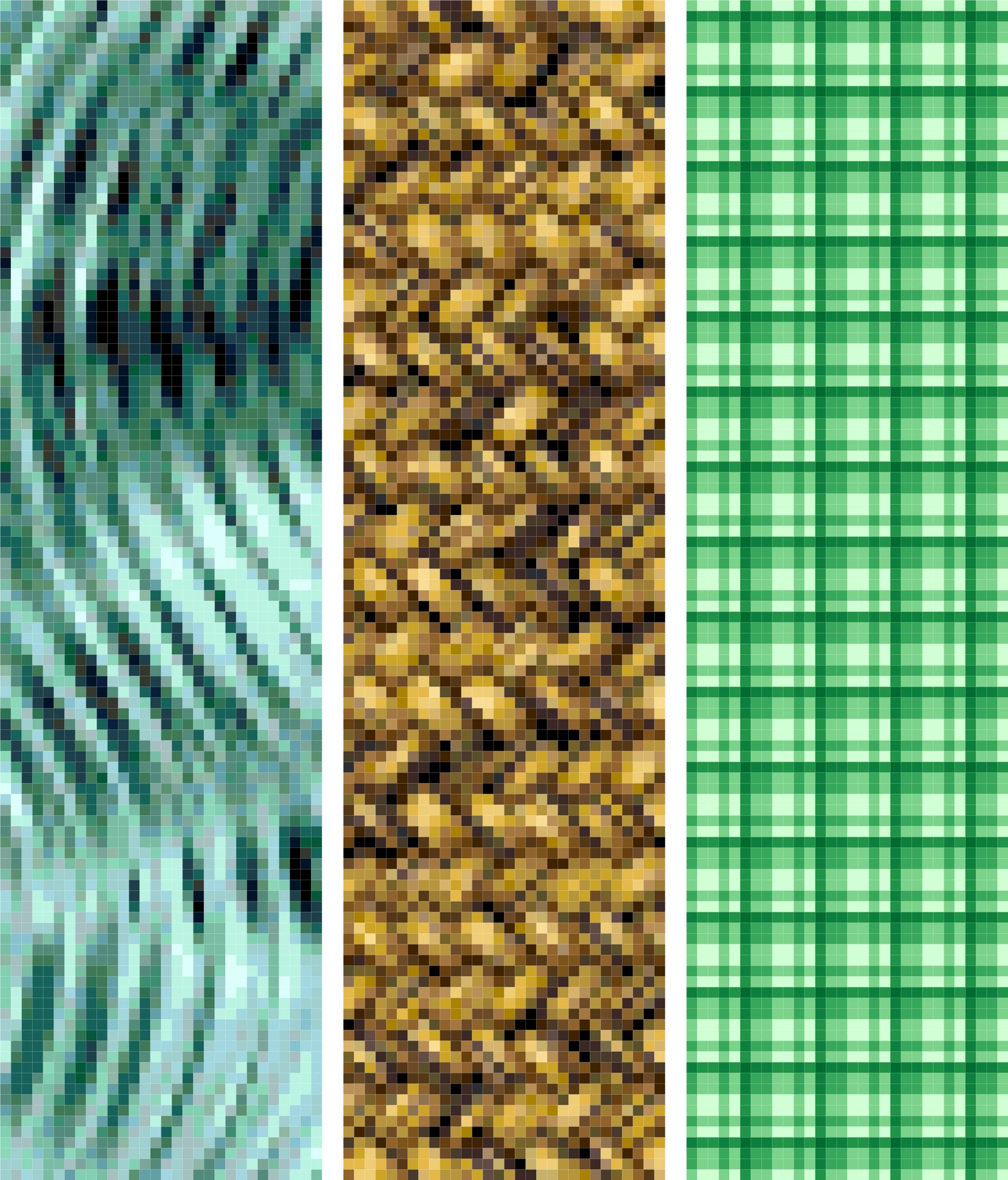 bookmark 14 abstract cross stitch image