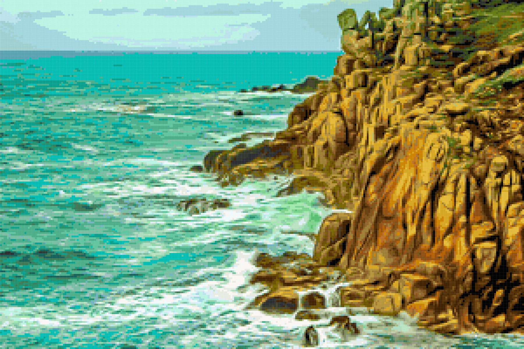 lands end cross stitch image